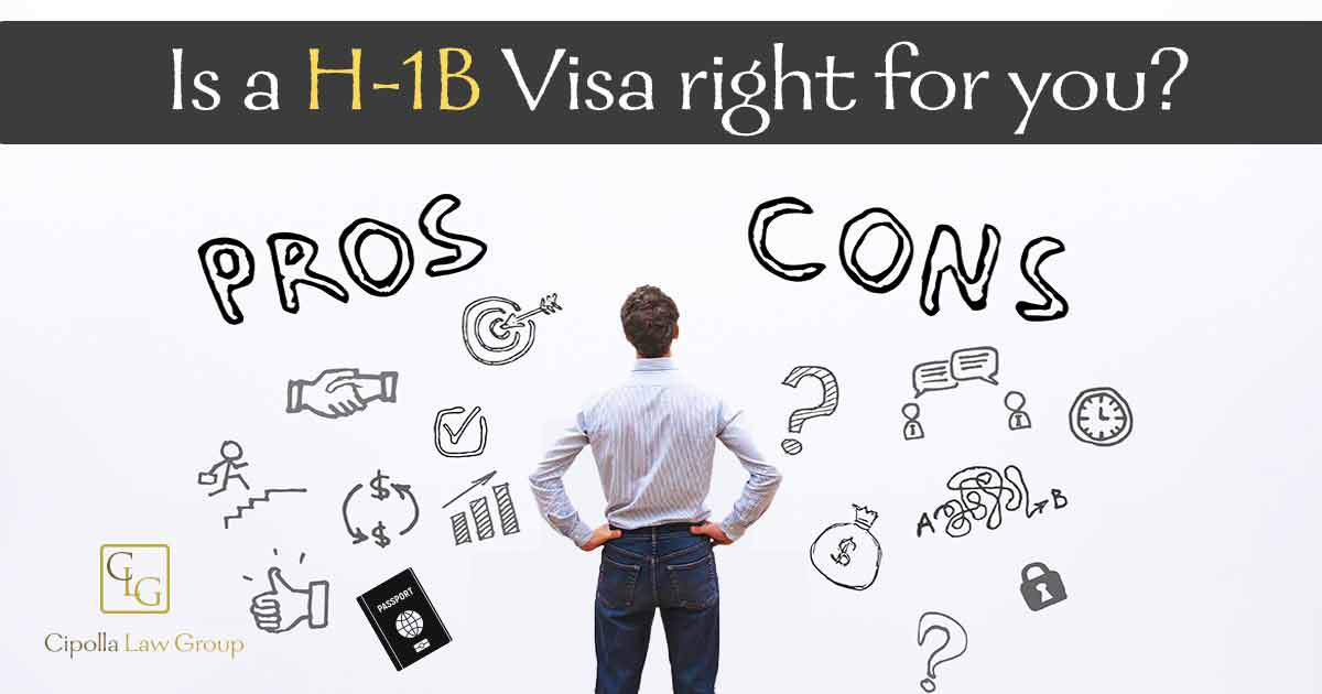 Pros and Cons of H1B visa